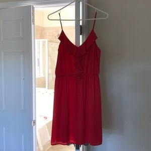 Size Large Coral Alya Dress from Franchescas.